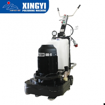 construction grinding machinery for surface treatment